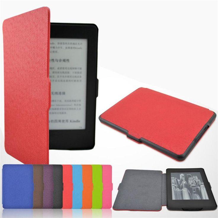 Fiable kindle paperwhite case ultra slim case magnética cubierta para kindle paperwhite 1/2/3 con cierre magnético asegura tapa