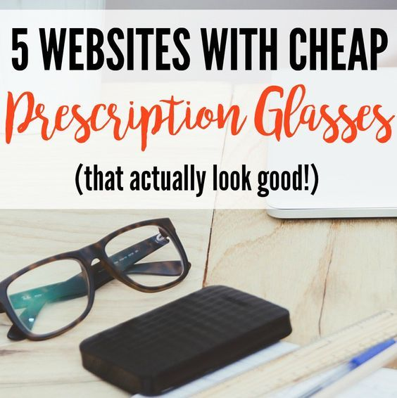 5 Websites With Cheap Prescription Glasses (That Actually Look Good!)