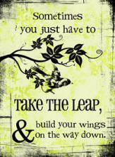 Take the leap and build your wings