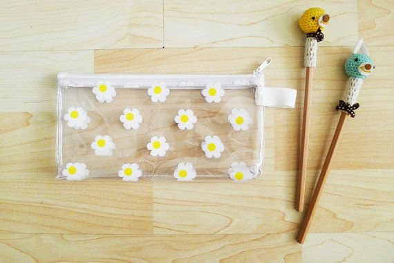 https://www.etsy.com/listing/191739433/white-daisy-clear-pvc-zipper-pencil-case