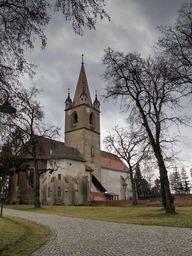 Fortress church in Targu Mures, Romania