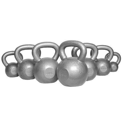 Kettlebell Gusseisen 4-32 KG Kugelhantel Hantel Gewicht Handgewicht Schwungkugel