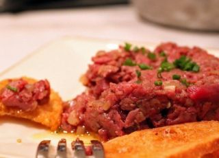 Kitfo (Ethiopische steak tartare)