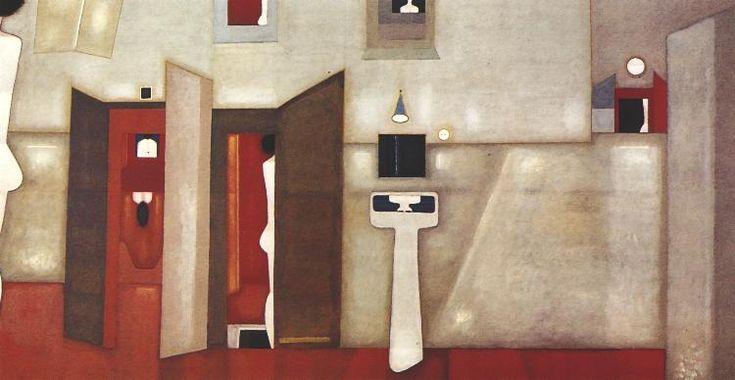 "Jerzy Nowosielski ""Villa dei Misteri"" 1975"