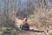 Rent Atv's for the day at Ride Royal blue this would be fun for the husband