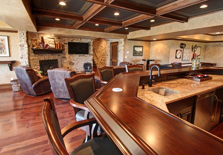 lower level home bar
