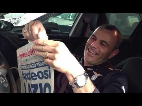 FOOTBALL -  Festeggiamenti Lazio finale Coppa Italia 2013 by nero Scherzo a Romanista cor cane - http://lefootball.fr/festeggiamenti-lazio-finale-coppa-italia-2013-by-nero-scherzo-a-romanista-cor-cane/