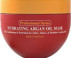 Professional Series Argan Oil Mask, $12, Amazon  If your showering routine doesn't include a weekly hair mask, you need to get on it: stat. This Aargan Oil hair treatment is Amazon's number-one best seller because it promotes your hair's natural growth and turns dull, lifeless hair into silky, beautiful tresses.