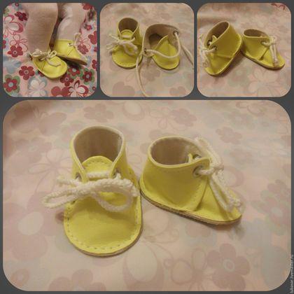 Одежда для кукол ручной работы. Ярмарка Мастеров - ручная работа. Купить Обувь для Baby Born (Беби Борн). Handmade.
