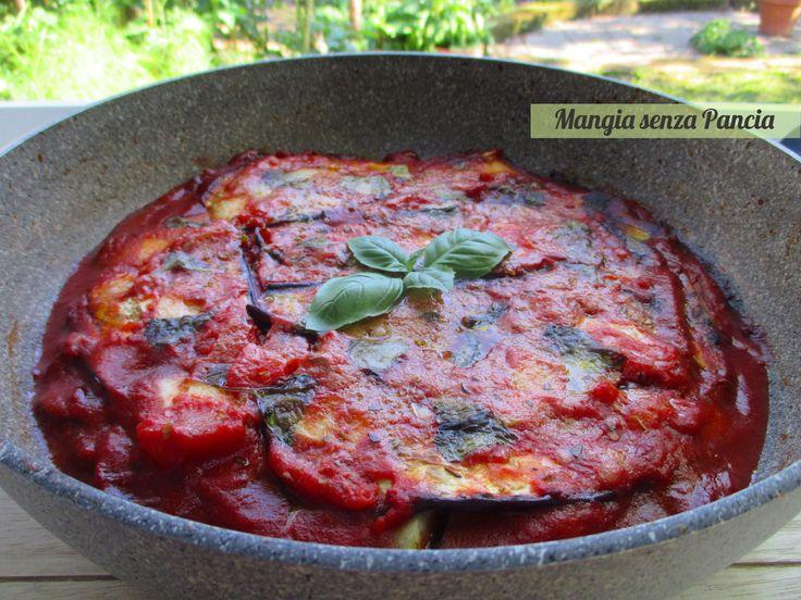 Parmigiana light in padella