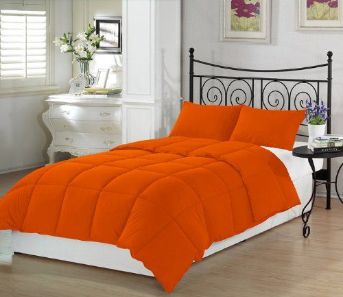 Orange Crush Twin Extra Long Comforter Set By Ivy Union Price:	$36.40