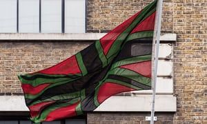 Chris Ofili agrees to let Union Black fly again after giving flag to the Tate   Art and design   The Guardian