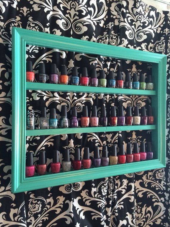 25 best Nail polish shelves ideas on Pinterest Nail polish