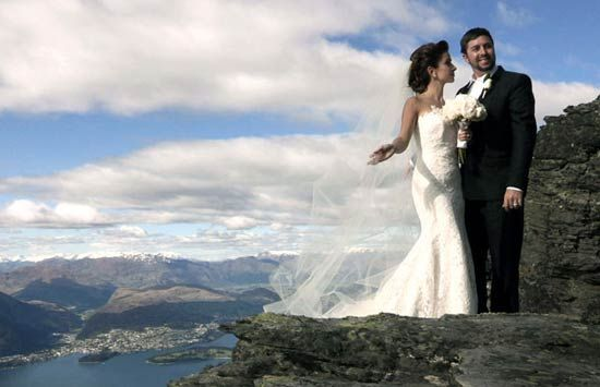 Stunning wedding video taken here at Whare Kea Lodge