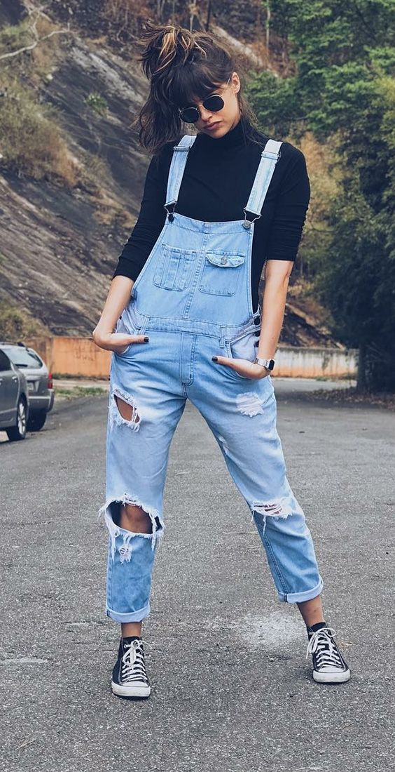 Dai un tocco di stile al look casual – #CasualLook #dem #eine …