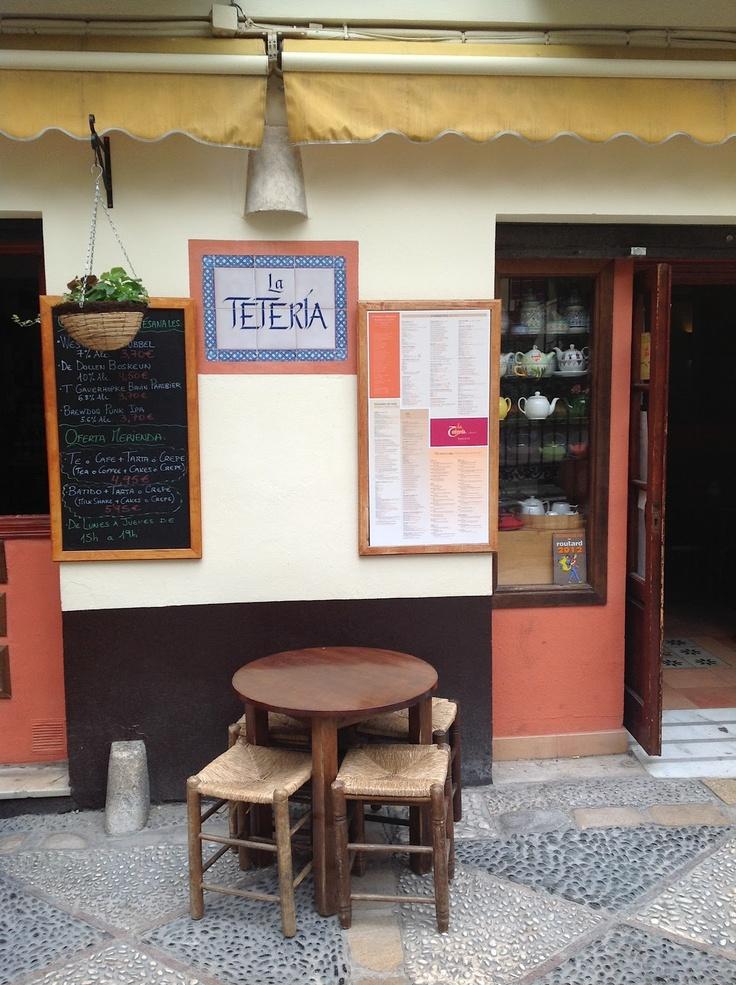 """""""La Teteria"""" in Malaga."""