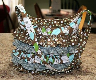 Ruffled Bag Pattern