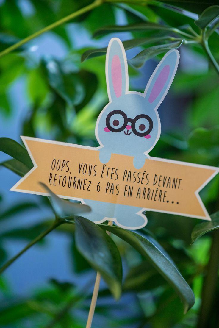 Suivez le lapin! Chasse aux oeufs paques en délire by Happy Kits