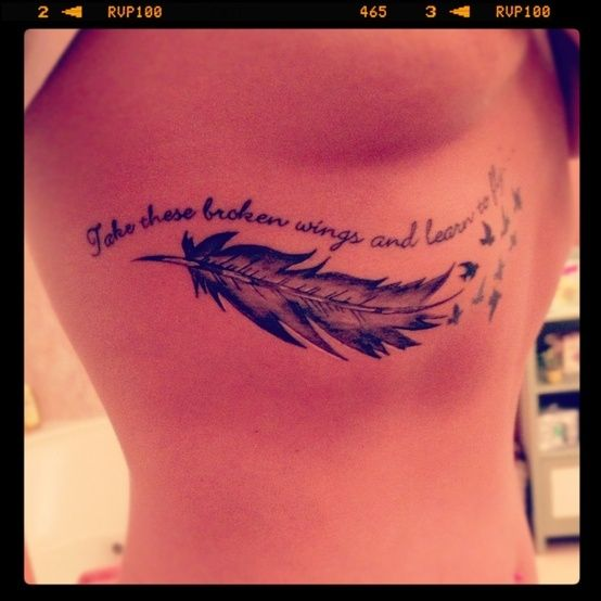 take these broken wings and learn to fly, tattoo - Google Search