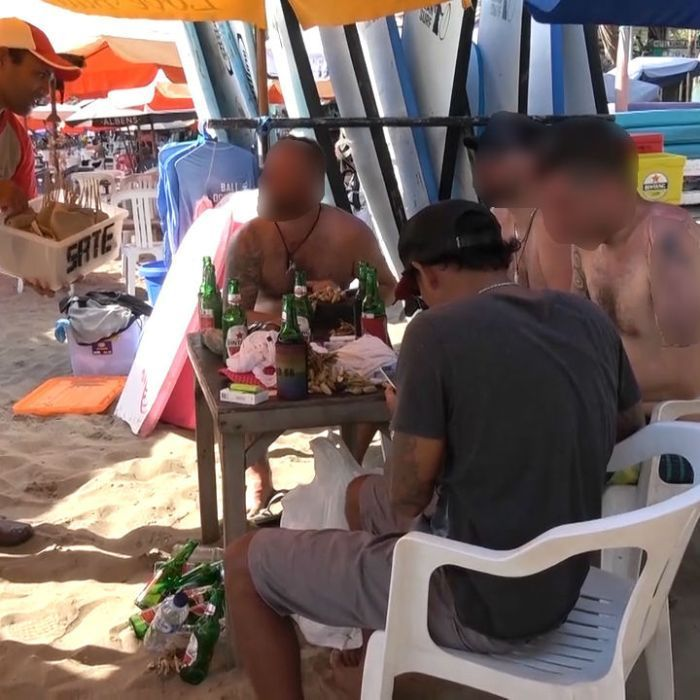 Australian tourists are unwittingly eating dog meat in Bali, according to evidence provided to the ABC's 7.30 program.