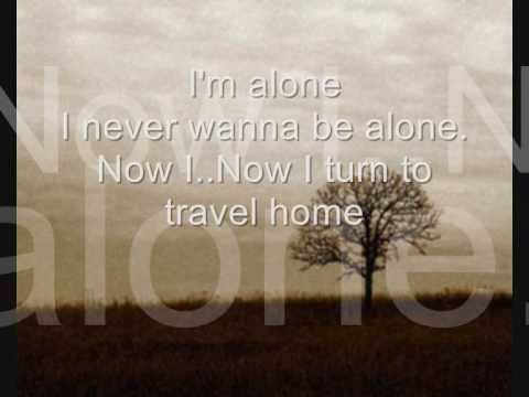 Alice in chains alone lyrics