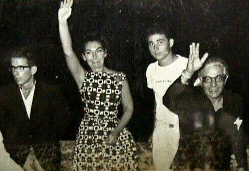Aristotle Onassis and Maria Callas