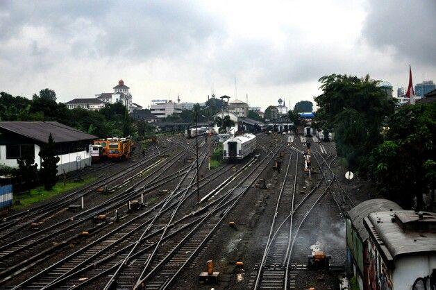 Railway station, Bandung.