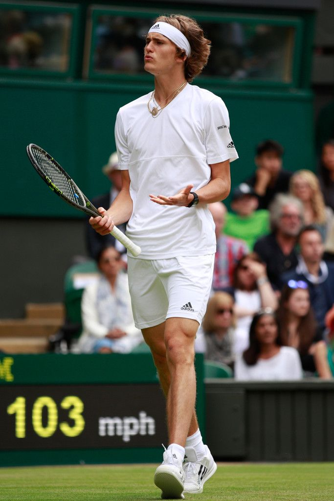 Alexander Zverev Photos Photos - Middle Sunday: The Championships - Wimbledon 2016 - Zimbio