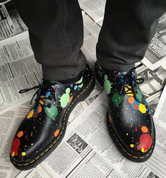 The Splatter 1461 shoe, shared by lrryd.