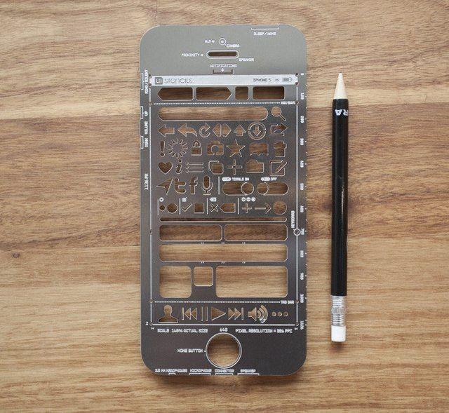 Iphone stencil cover!