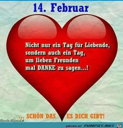 Gedicht Valentinstag Lustig