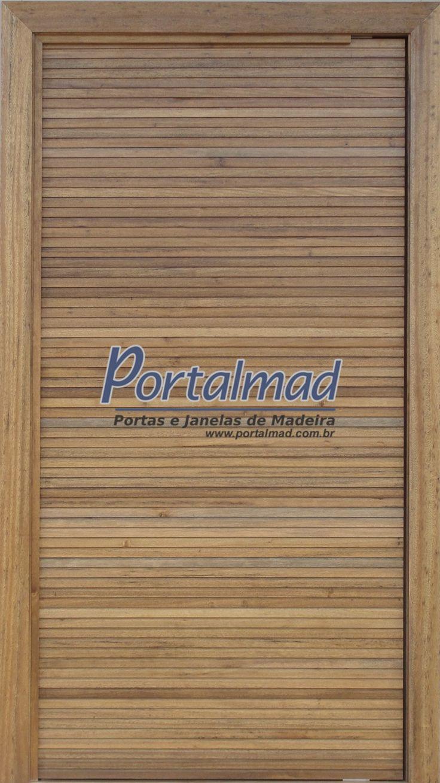 Porta de Entrada - Madeira