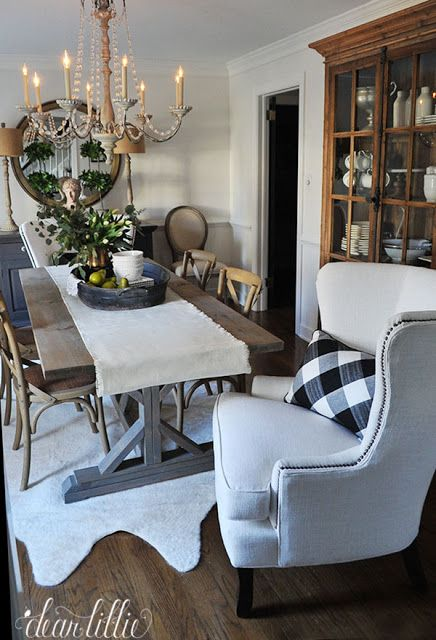 Birch Lane Dining Room Refresh By Dear Lillie