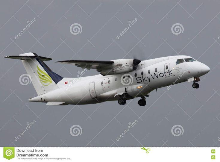 SkyWork Airlines Dornier 328 Editorial Stock Image - Image: 75234744