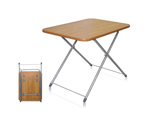 стол раскладной /ТУРИСТ/ 750*500*500(620)мм мет.вишня черный