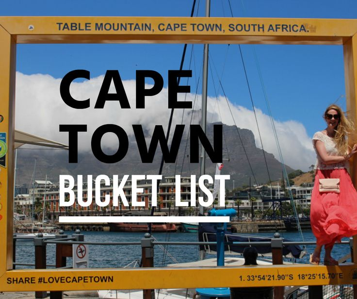 Cape Town bucket list | Itchy Feet Diary