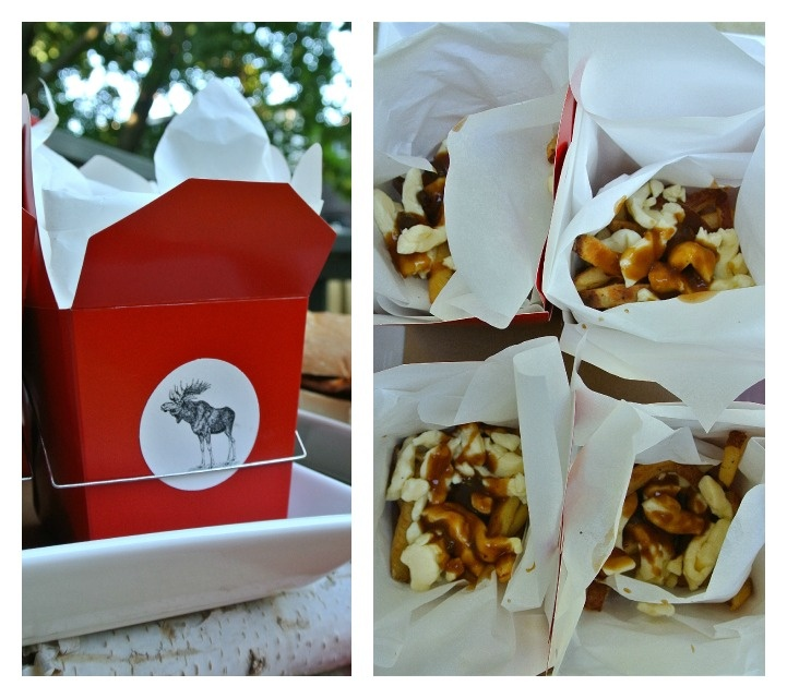 Chic Canadiana - Canada Day party, poutine!