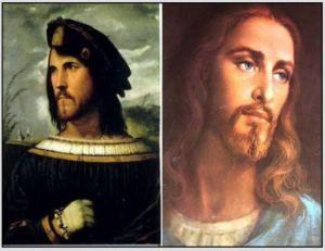 Ceasa Borgia as Jesus image