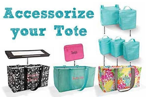 Accessories for the Thirty One Large Utility tote!
