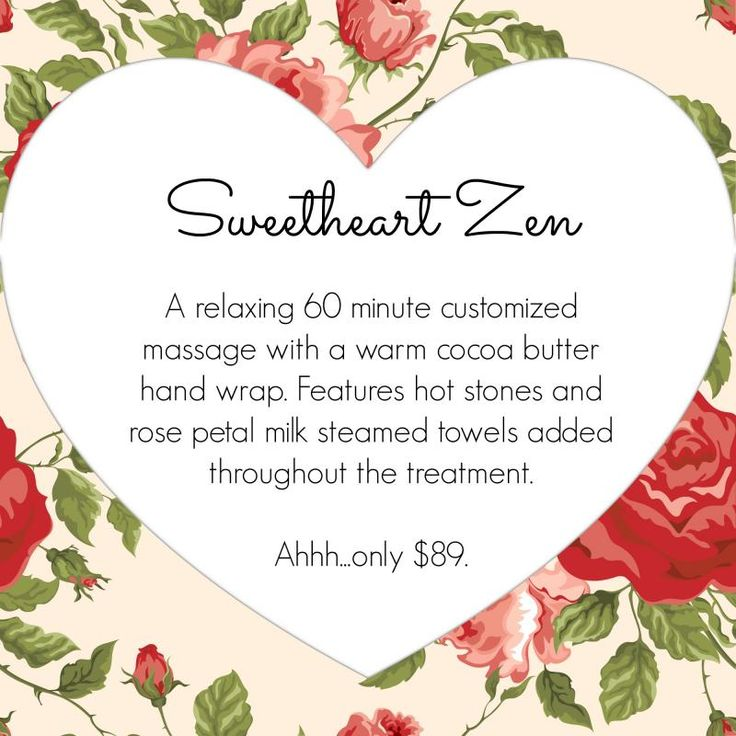 Las Vegas massage and spa specials 2016 Valentines Day