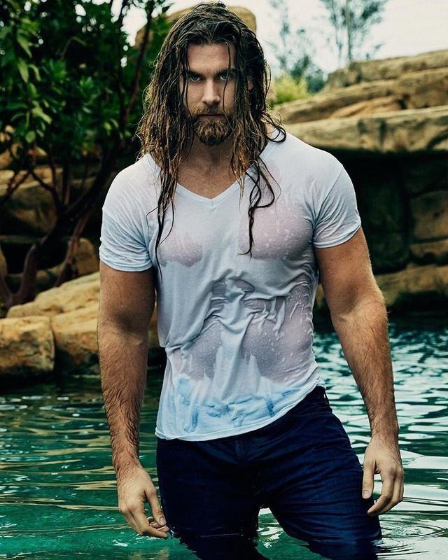 Pin By Luis Del Rosario On Rostros Long Hair Styles Men Gorgeous Men Handsome Men