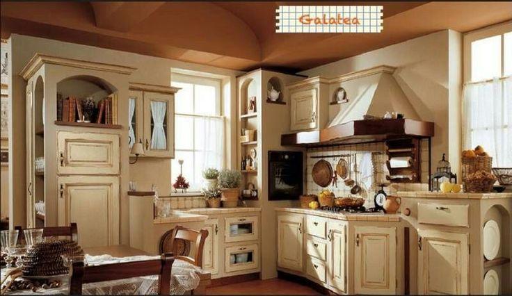 472 migliori immagini cucine kitchen country shabby c su pinterest - Cucine shabby country ...
