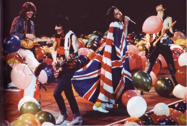 Mick Taylor reuniting briefly with The Rolling Stones in Kansas, 1981