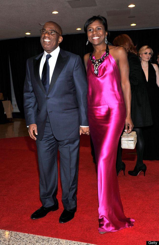 Power couple.  Al Roker and Deborah Roberts