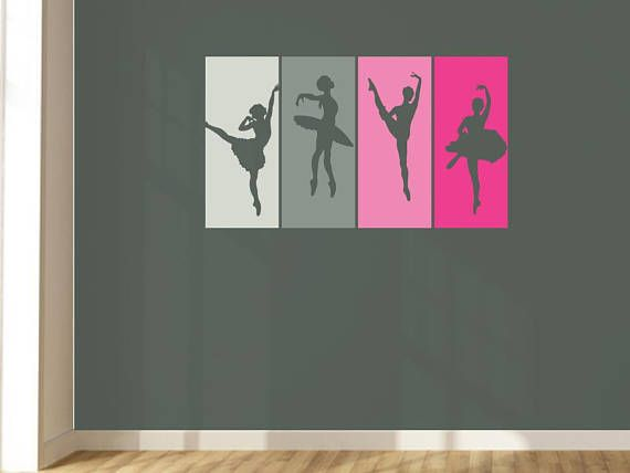 Design Divils Customisable Classic Wall Art Panel Dancer