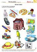 Kleuterschool - Werkbladen