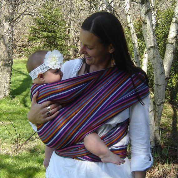 Loving pretty much all the fabrics from this shop!! Authentic Mexican fabric Baby sling wrap by cadobebe, $49.95