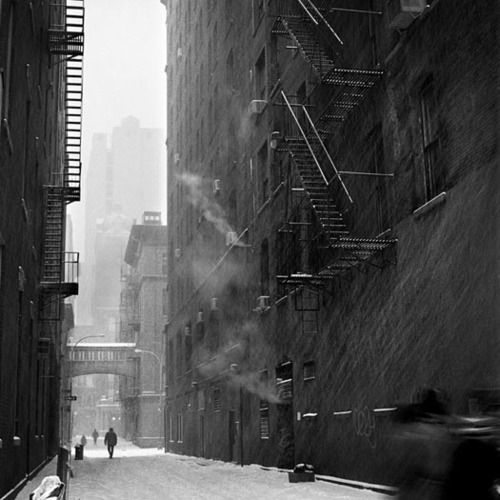 Eddie O'Bryan - Blizzard in TriBeCa, NYC, 2010