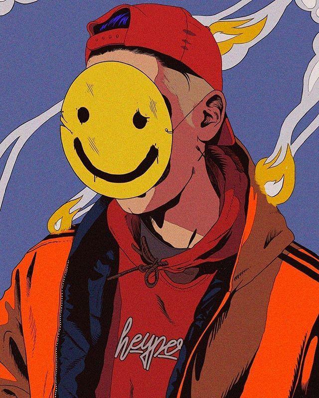 Autoretraticos By Gustavo Perg Heyperg Gustavoperg Digitalart Portrait Emoji Illustration Graphic Design Illustration Illustration Art Character Art