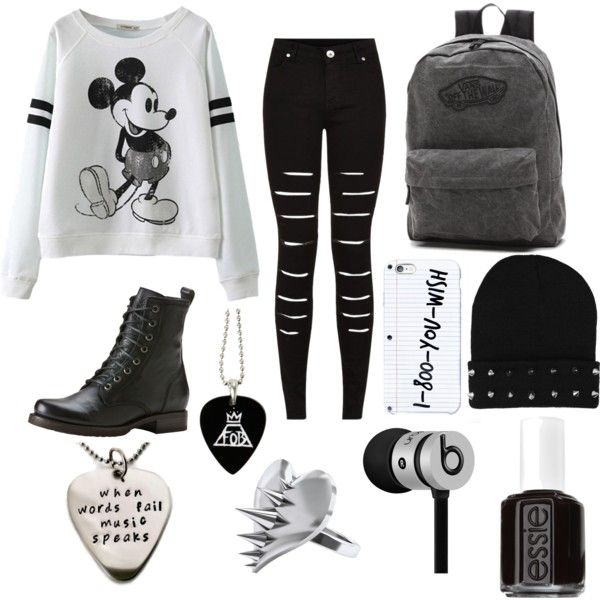 Untitled #26 by ronnieradkemine on Polyvore featuring polyvore fashion style Frye Vans LUSASUL Beats by Dr. Dre Essie